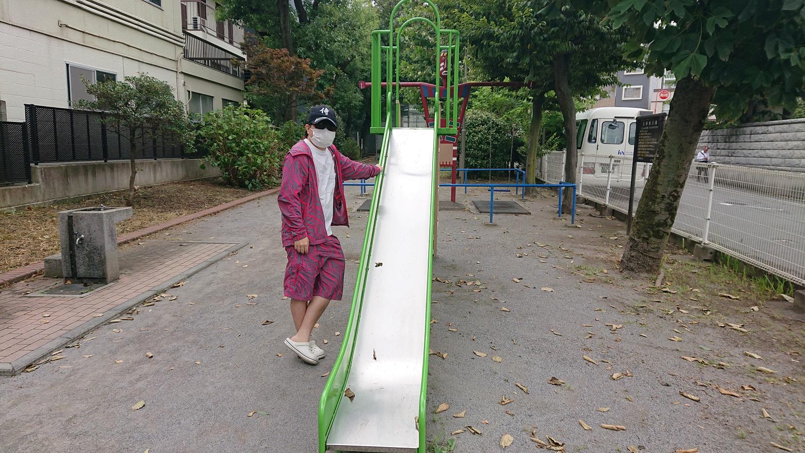 五間堀公園のお休みスポット